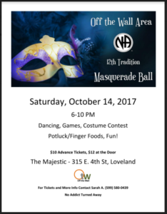 Off the Wall Masquerade Ball